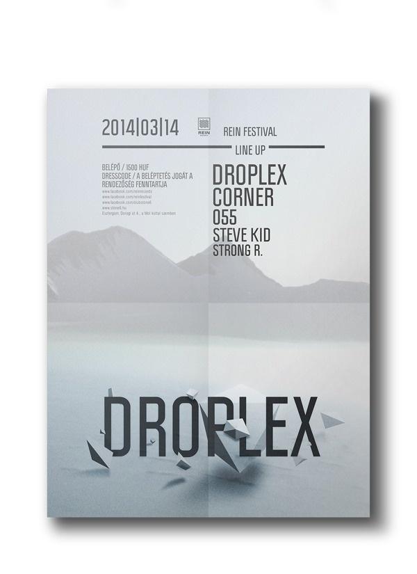 REIN Festival on Behance #festival #flyer #design #graphic #rein #poster