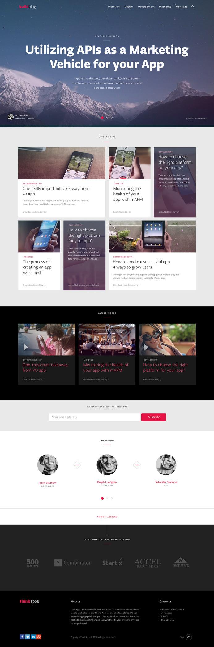Blog_home #site #ui #website #digital #webdesign #layout #web