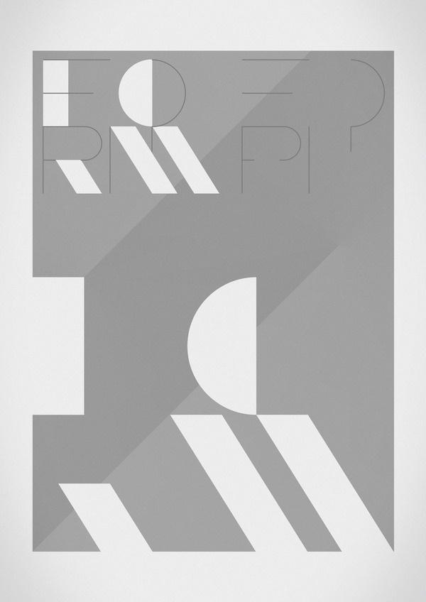 365+One Quarter // Type Journal #ryan #atkinson