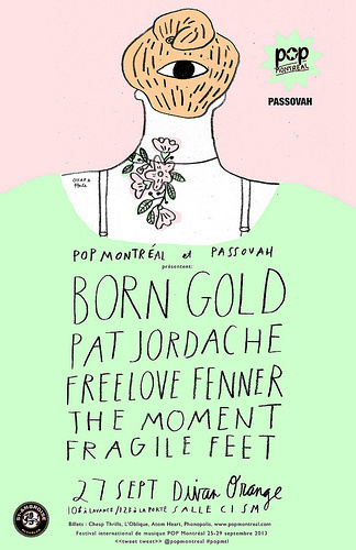 POP MONTREAL PASSOVAH POSTER #illustration