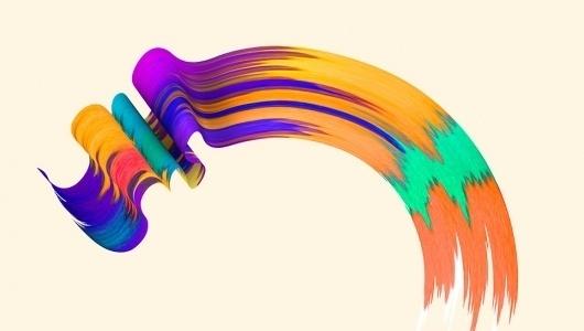 www.santtumustonen.com #colour #brush