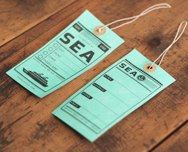 Two Arms Luggage tags 3 #print