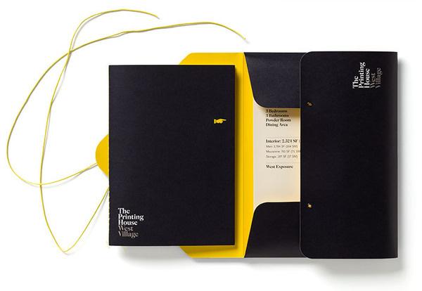 Pentagram #house #branding #yellow #black #the #printing