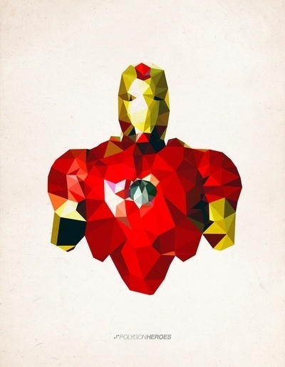 http://thecoolsumist.tumblr.com/tagged/illustration #hero #illustration #polygon