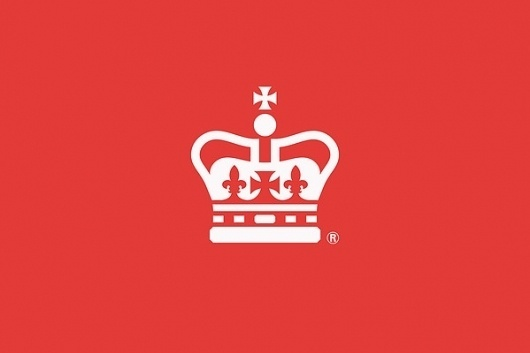 Royal Mail 'Rethink' for ICON magazine on the Behance Network #mail #crown #red #royal