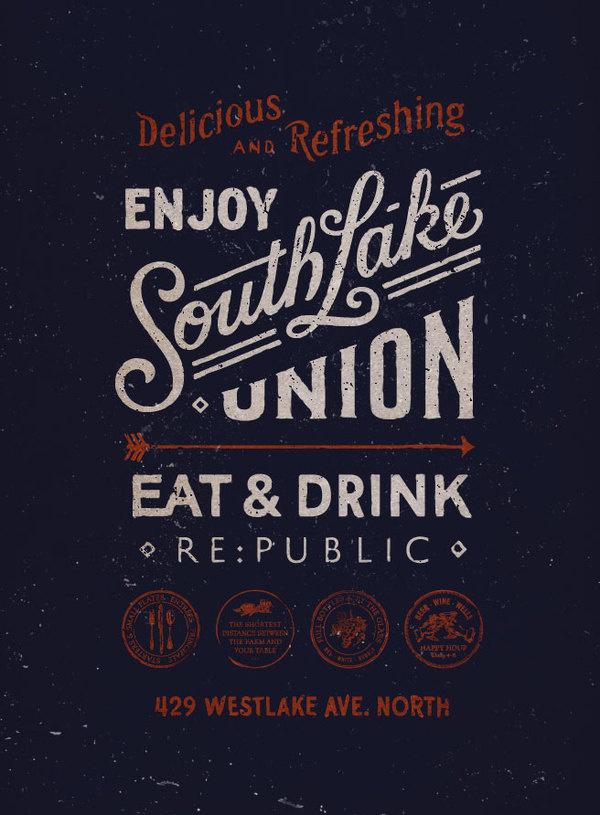 SKETCHBOOK Anthony Ciocca Design #lettering #restaurant #bar #poster #typography