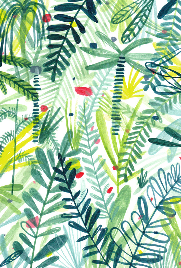 charlotte4 #illustration #pattern #plant