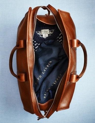 Twitter #ll #travel #ralph #bean #lauren #leather #bag