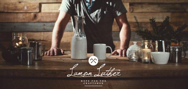 Lamon Luther on Behance #logo