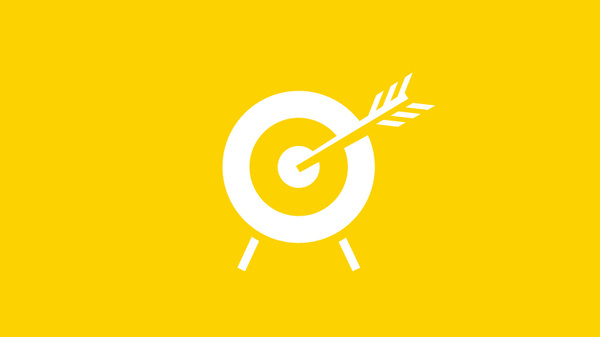 Custom Pictogram, by iconwerk #inspiration #creative #pictogram #icon #design #graphic #yellow #arrow