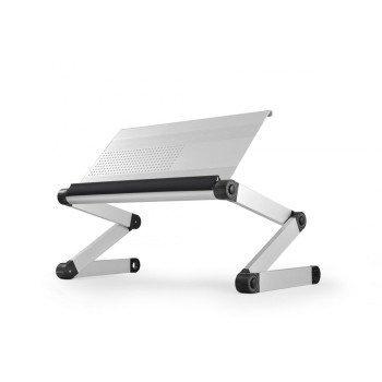 Adjust your laptop for better posture using this ergonomic lap desk. #design #product #lap #desk #industrial