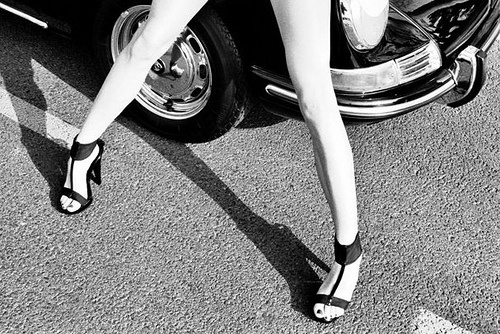 Women and cars « . . . #retro #women #cars #blackandwhite #luxury #beauty