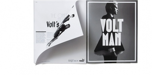 Julia | Volt #white #display #black #photography #and #fashion #type #editorial