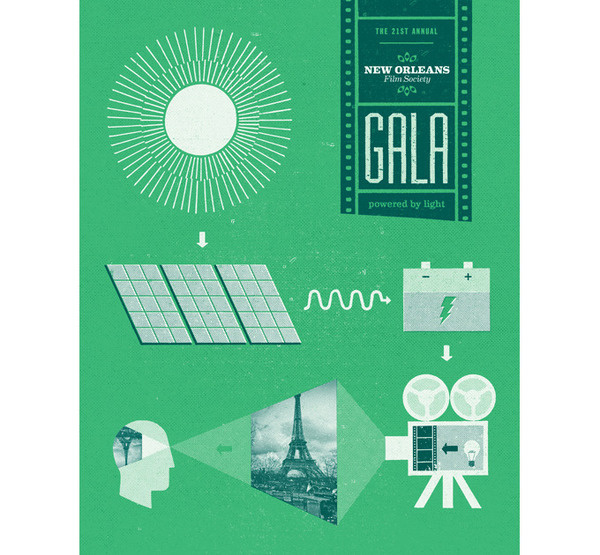 New Orleans Film Society SCOTT CAMPBELL #illustration