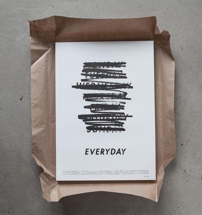 Everyday — Albin Holmqvist #inspiration #typography