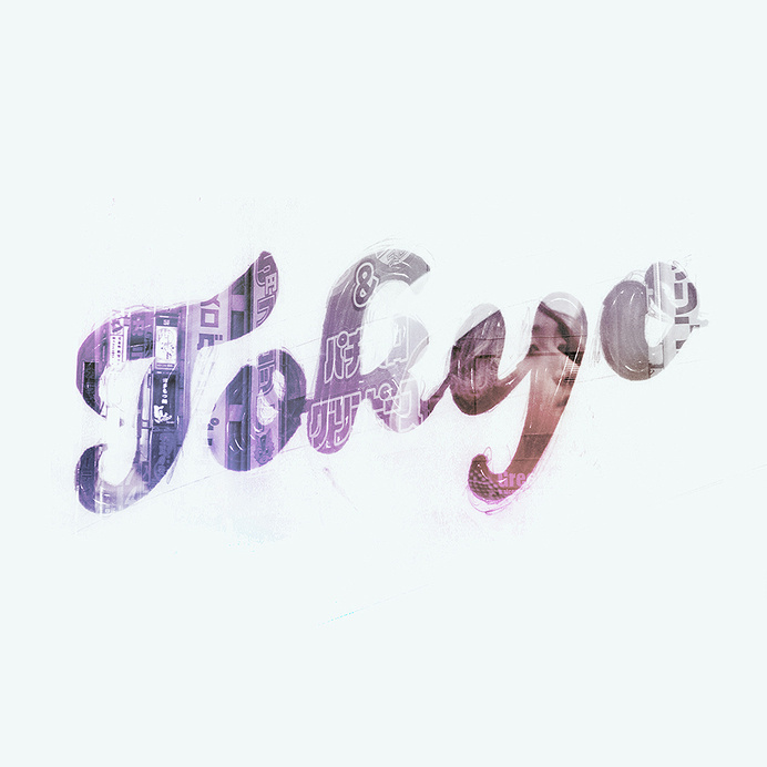 New artwork - Tokyo A hand-lettering artwork inspired in one of our favorite cities in the world. Available at Society6.