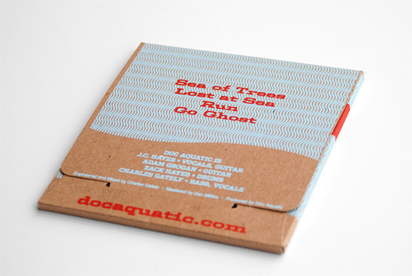 Doc Aquatic Distance Means You With Rhinestones #album #packaging #print #screen #art