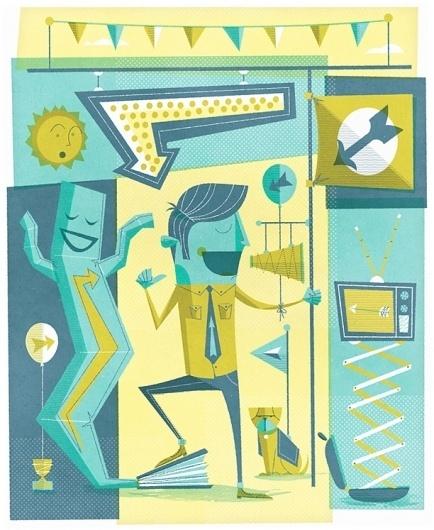 Design Bureau Magazine : Self Promotion - The Black Harbor #hill #scott #illustration