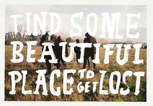 silklace:sweet adeline (by bosque™) #landscape #lettering #photography #typography