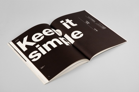 Manual: Limited Ed Poster – Hi-res Images | September Industry #layout #magazine