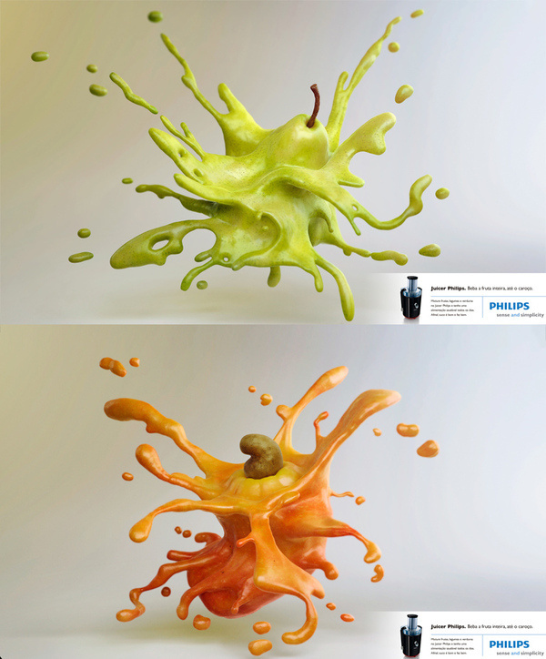 Philips Fruits #fruits #advertising #philips #conti #3d #pedro