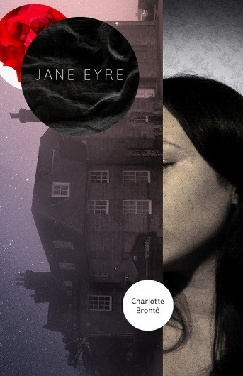 The Fox Is Black » Re-Covered Books: Jane Eyre #bookcover #book #bookdesign