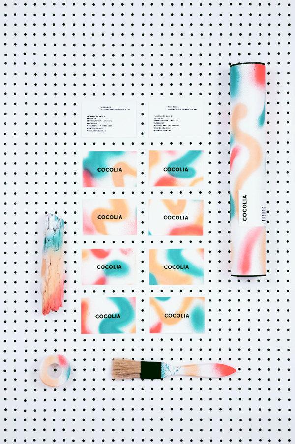 IDENTITY COCOLIA on Behance #design #graphic #logo #colors #identity #barcelona #cocolia #cards