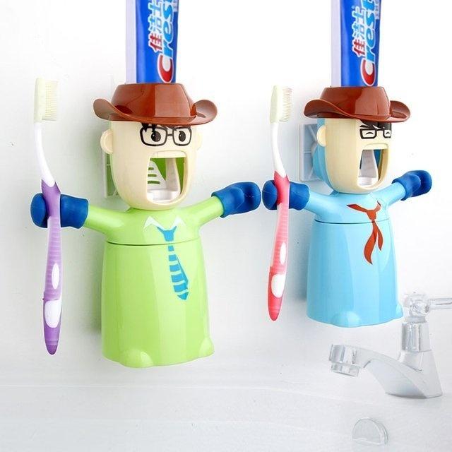 Warriors Toothpaste Dispenser & Holder #tech #flow #gadget #gift #ideas #cool