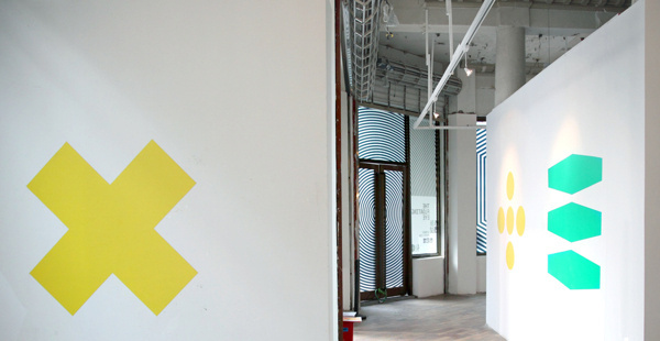 Shanghai Biennale / Sydney Pavilion on Behance #gallery #shanghai #graphic #wall #biennale