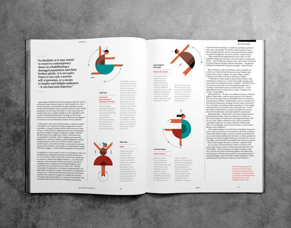 Outpost Magazine #illustration #editorial #magazine #typography
