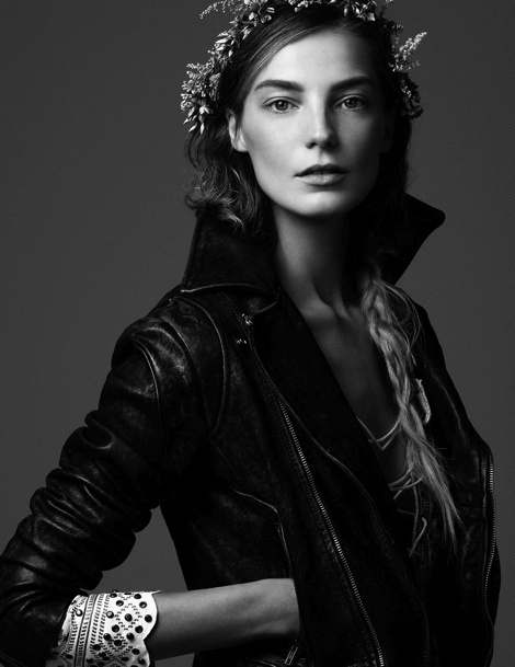 Daria Werbowy by Steven Pan for Vogue Ukraine #model #girl #photography #portrait #fashion #beauty