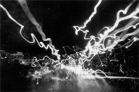 FFFFOUND! | Tumblr #analog #photo #lights #street #light