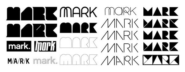 MARK logo development #logo #mark