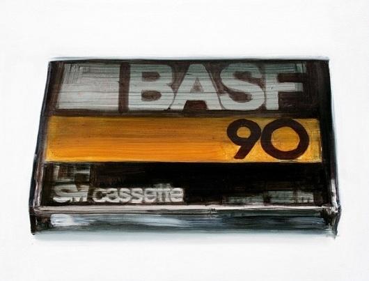 WORKS « Dane Lovett #yellow #cassette #painting #oil