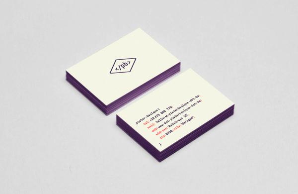 Wouter De Boeck— Graphic Design #business #card #code #identity #web