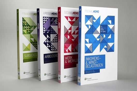 Kluwer Memo's / Cover Design on the Behance Network #cover #print #publication