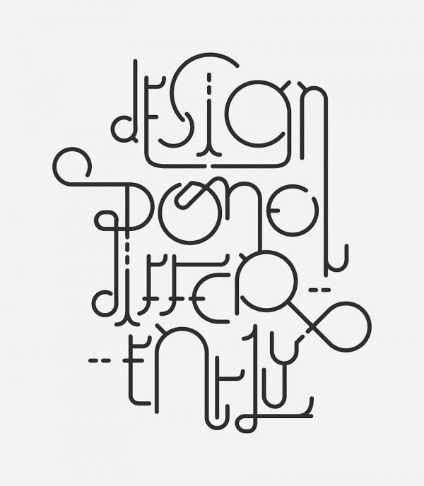 Personal experiments - Sam Parij's Portfolio #typography