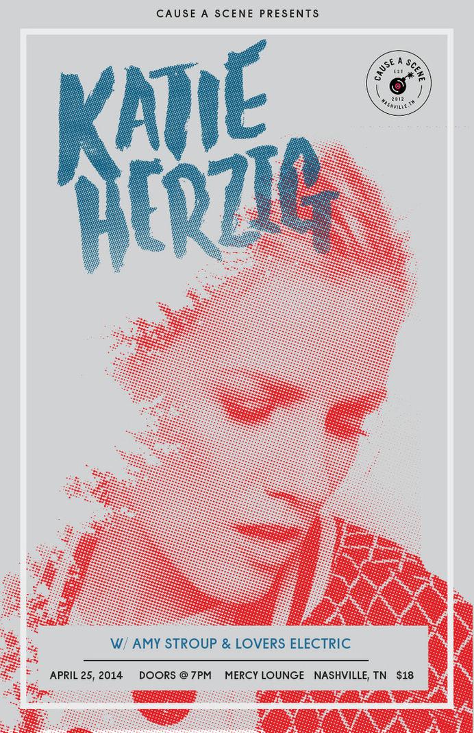 Katie Herzig — JDSN— Nashville based graphic designer for big brands and great bands #gig poster #concert poster #concert #poster #katie