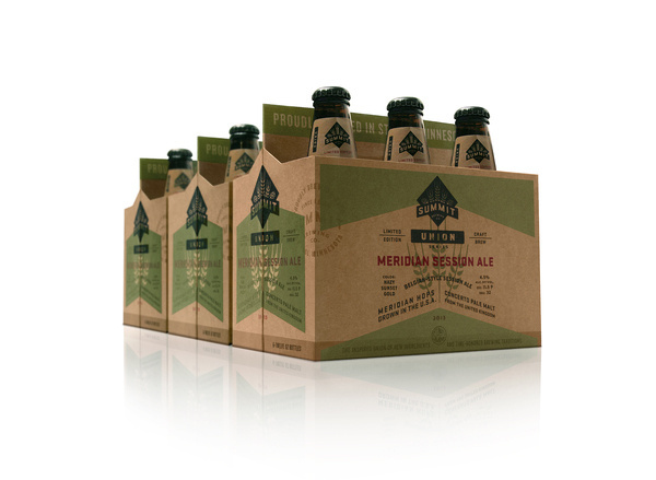 Summit Brewing company #beer #six #duffy #packaging #pack