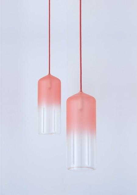 Gradient Lamp - Studio WM. #glass #lamp #color #gradient