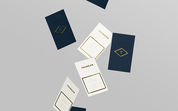 Tourean on Behance #cards #anagrama #business