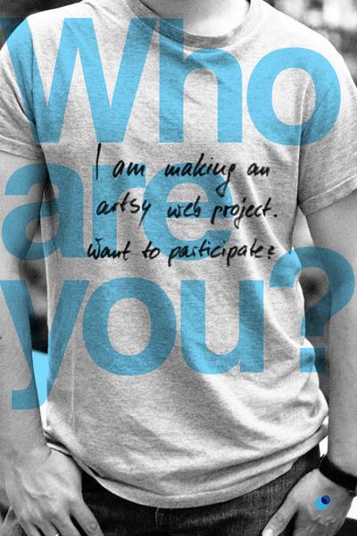 Who are you? I am... #white #you #& #design #black #who #iam #are #web #social