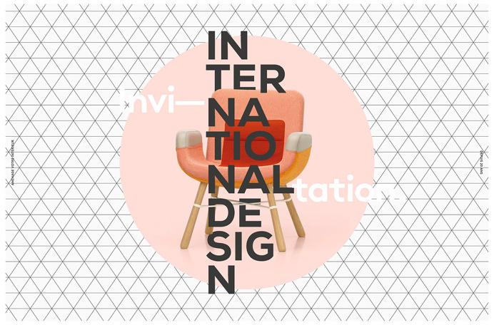 international design 20 years promotion card furniture interior minimal beautiful design designblog www.mindsparklemag.com