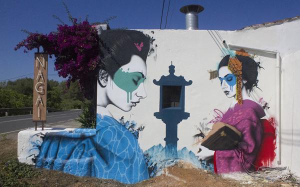 Street Art by Fin Dac & Angelina Christina #art #street