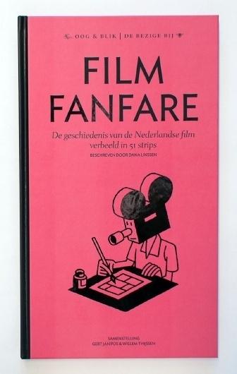 Filmfanfare Book launch March 31st - www.hansje.net #hansje