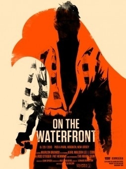 Movie Posters - Olly Moss #on #waterfront #poster #the