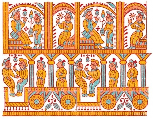 All sizes | Indian Textitle Design | Flickr - Photo Sharing! #indian #pattern #textile