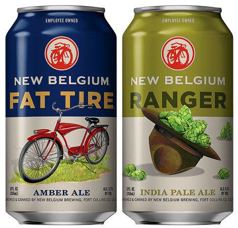 New Belgium Cans #packaging #beer