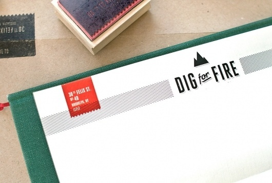 Kelli Anderson: Dig for Fire #print #design #identity