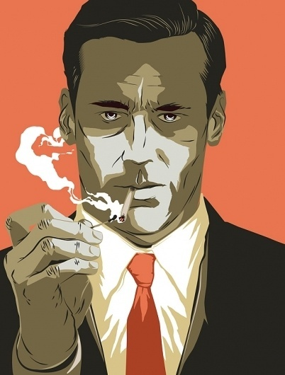 BLDGWLF #illustration #mad #men